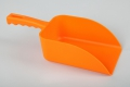 1 Karton (10 St.) Handschaufel - 138 x 310 mm - HACCP - Polypropylen, Medium, 750 g - Orange